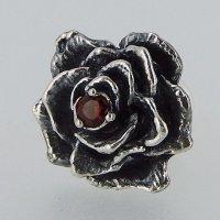 薔薇 石付き ピアス