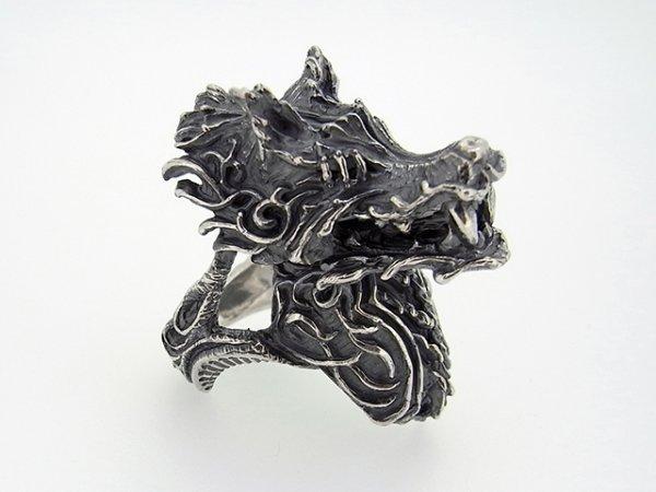 オオカミ、狼、ウルフのリング